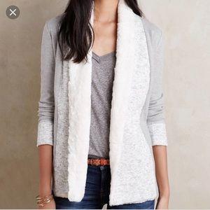 Anthropologie Ambrose knit jacket XXSP